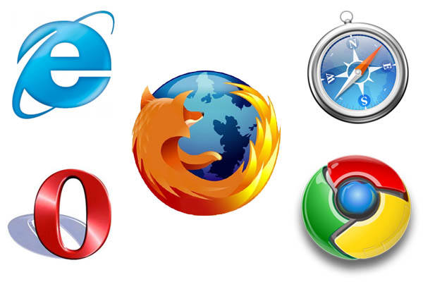 Google chrome mozilla firefox internet explorer opera netscape